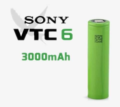Sony VTC6 18650 Orjinal Elektronik Sigara Pili