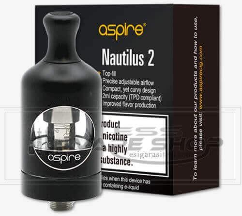 Aspire Nautilus 2 MTL Atomizer %100 Orjinal