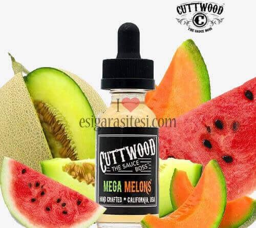Cuttwood Mega Melons Premium Likit 60ML