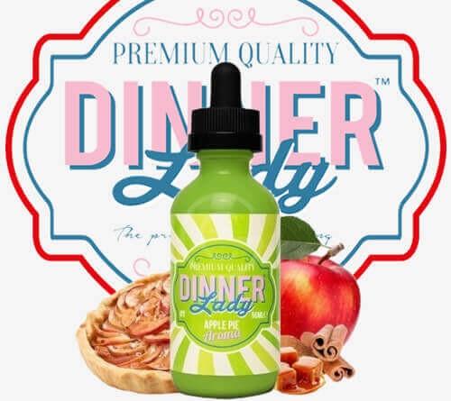 Dinner Lady Apple Pie 60ML Premium Likit