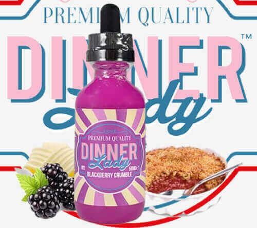 Dinner Lady Blackberry Crumble Premium Likit 60ML