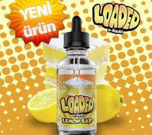Loaded Lemon Bar 120ML Premium Likit