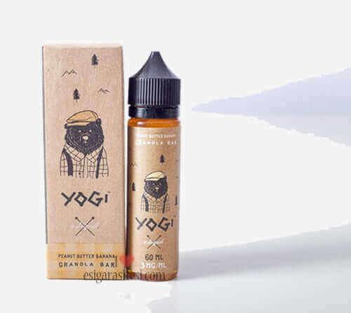 Yogi Peanut Butter Banana Granola Bar Premium Likit 60ML