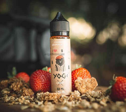 Yogi Strawberry Granola Bar 60ML Premium Likit